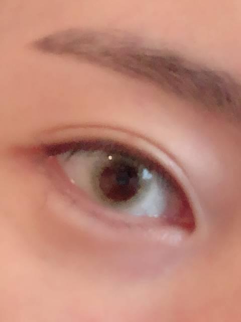 ぎゃ!黒目が小さく見えちゃう!