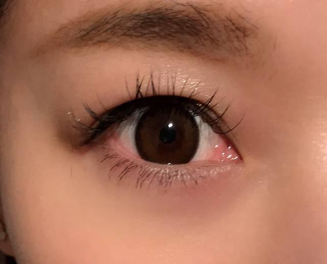 ナチュラルに瞳が強調されました💗