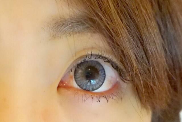 ちょっと派手だけど瞳に透明感が出ました!