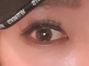 瞳の色がワントーン明るくなった!
