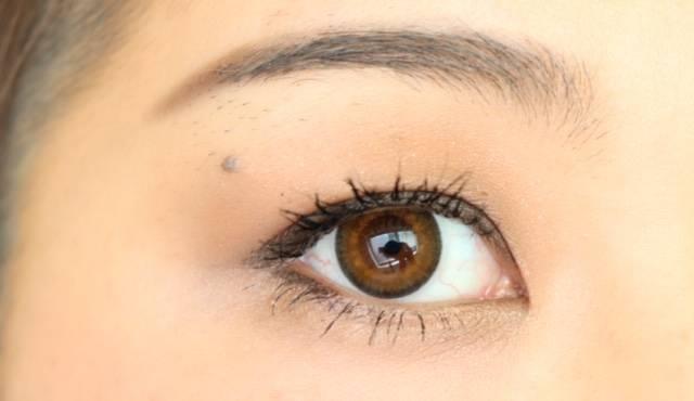瞳がグッと大きくなりました♡