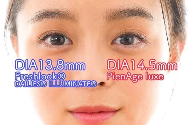 DIA13.8mmと14.5mmのレンズを比較!