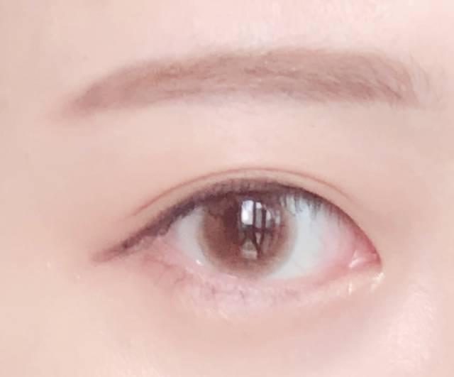 瞳の透明感がぐっと上がった♡