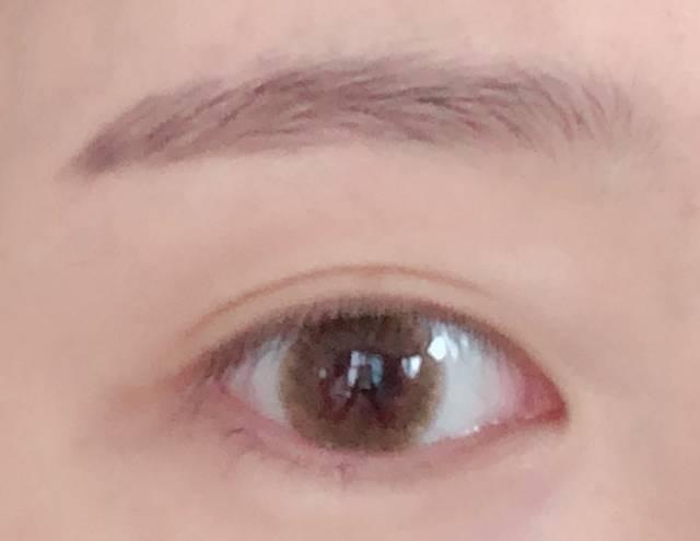 瞳の印象が柔らかくなった!