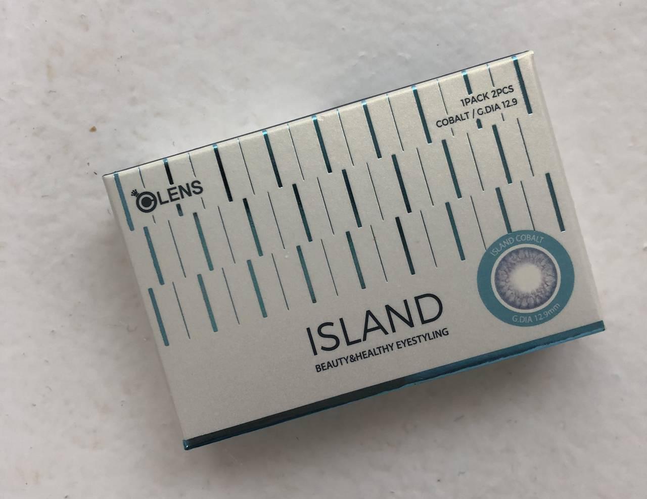 【アイランド コバルトのカラコンレポ】30万個のドットで構成された裸眼のように馴染むブルーカラコン