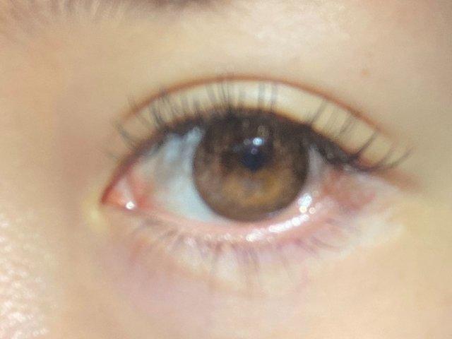 これが初めて撮った、瞳ボヤボヤの写メ