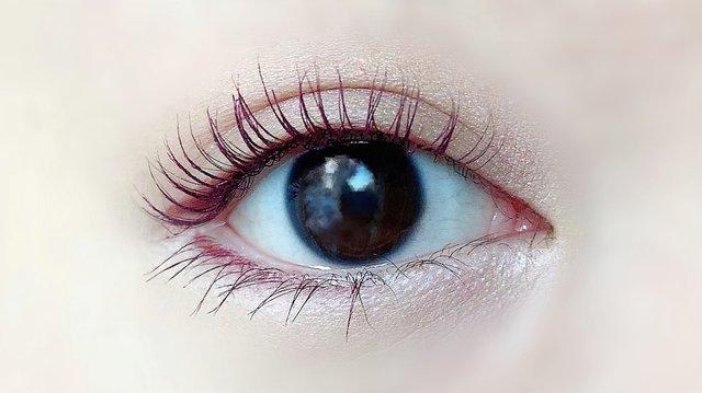 裸眼(正面)