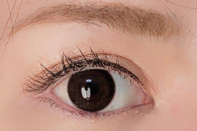 <装着>存在感のある瞳に仕上がりました!