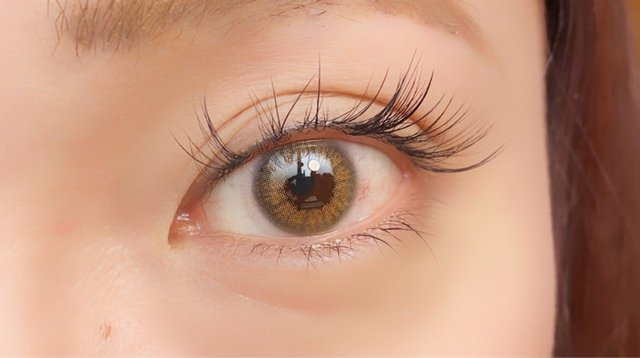 サイズはそのままに瞳の透明感がぐっとアップ❤︎