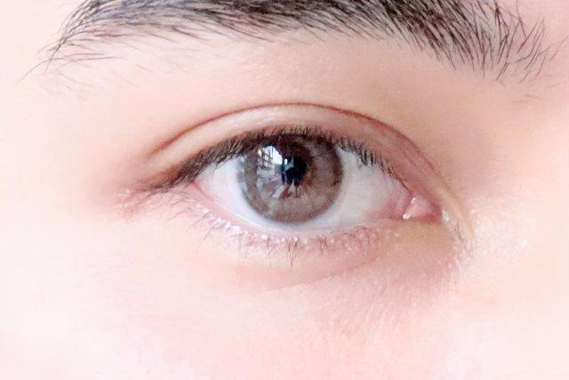 瞳に透明感が出た!