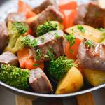 AGAに効果あるかも!?「牛赤身肉とヘルシー野菜のバター焼き」