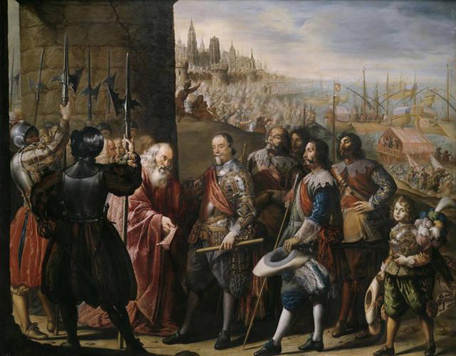 [フリー絵画] アントニオ・デ・ペレーダ作「サンタ・クルス侯爵によって奪還されるジェノヴァ」でアハ体験 -  GAHAG | 著作権フリー写真・イラスト素材集 (503)