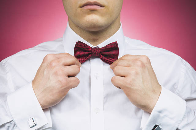 Free image of bowtie, dress shirt, cufflinks - StockSnap.io (2285)