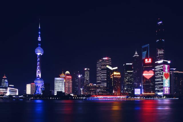 [フリー写真] 東方明珠電視塔と上海市の夜景でアハ体験 -  GAHAG | 著作権フリー写真・イラスト素材集 (3181)