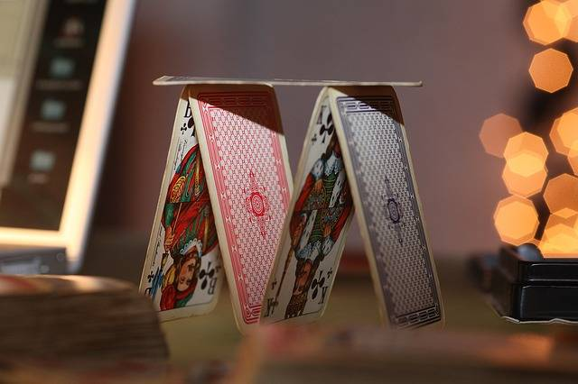 Free photo: Playing Card, House Of Cards, Luck - Free Image on Pixabay - 842037 (2219)