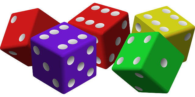 Free vector graphic: Dice, Game, Luck, Gambling, Cubes - Free Image on Pixabay - 161377 (3467)