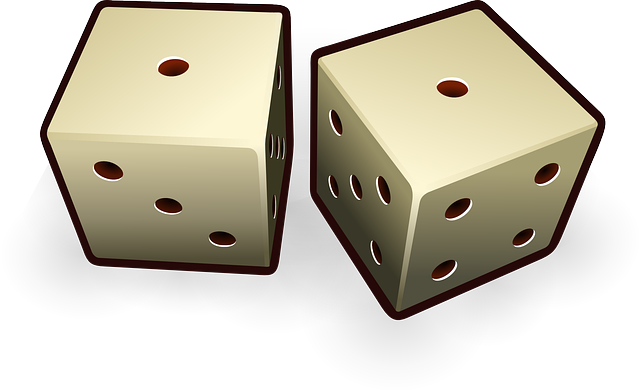 Free vector graphic: Dice, Die, Probability, Fortune - Free Image on Pixabay - 147157 (3509)