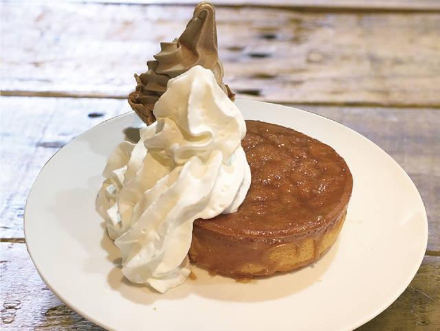ふわもちパンケーキ(アイスorモカソフト)