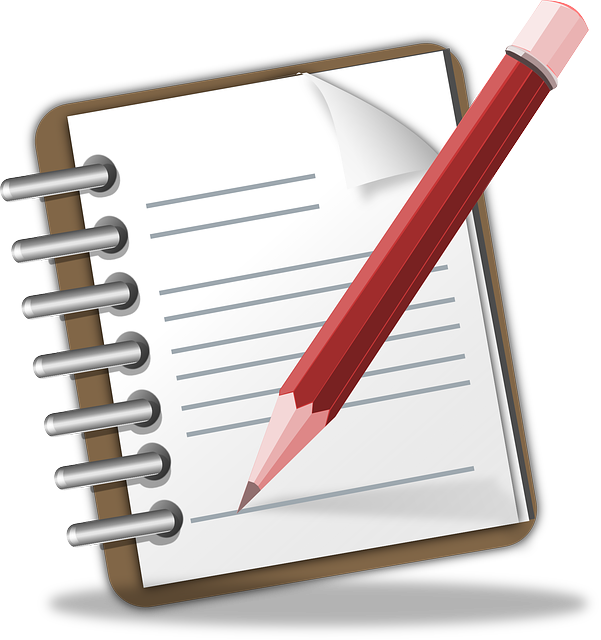 Free vector graphic: Notepad, Memo, Pencil, Writing - Free Image on Pixabay - 117597 (256)