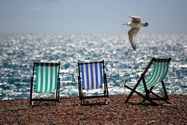 Free photo: Deckchairs, Sea, Beach, Seaside - Free Image on Pixabay - 355596 (455)