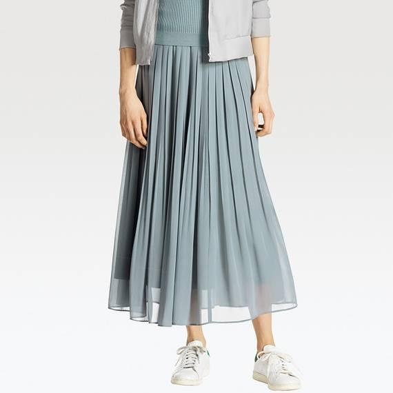 ハイウエストシフォンプリーツスカート ¥2,990 +消費税