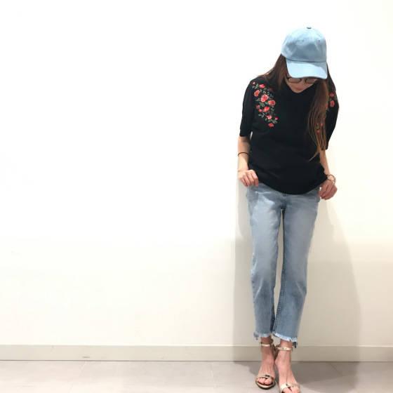 大人気♡刺繍topsに新作登場♫|GU SHOP BLOG (3020)