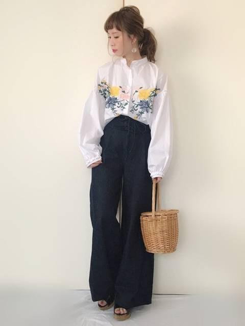 Alice*|ZARAのシャツ・ブラウスを使ったコーディネート - WEAR (4491)