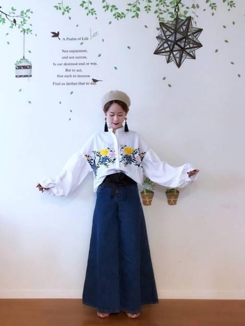 YUKI|SMELLYのピアス(両耳用)を使ったコーディネート - WEAR (4493)