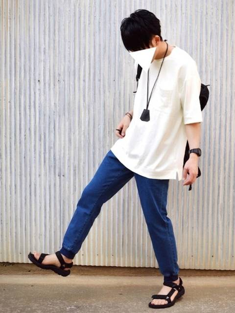 ogu|GUのTシャツ・カットソーを使ったコーディネート - WEAR (4852)