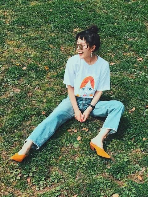 TAE|KORMARCHのTシャツ・カットソーを使ったコーディネート - WEAR (5184)
