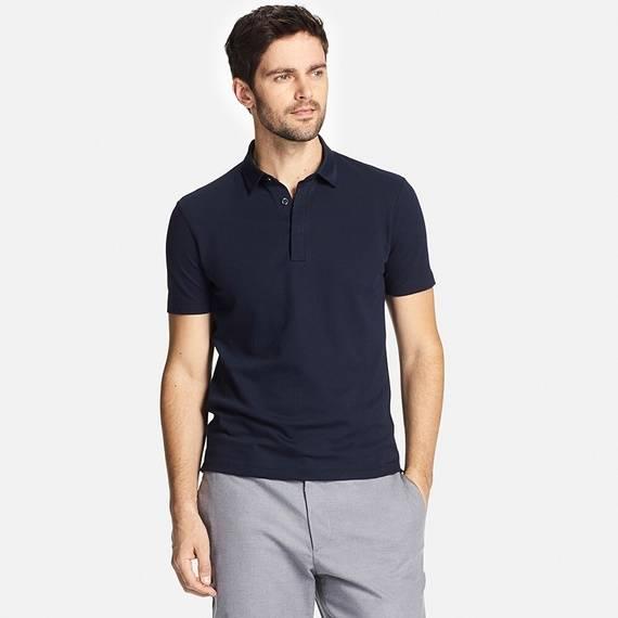 ユニクロ|ドライコンフォートシャツカラーポロシャツ(小襟・半袖)|MEN(メンズ)|公式オンラインストア(通販サイト) (5517)