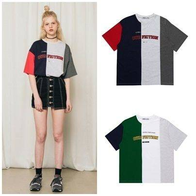 BUYMA.com 日本未入荷5252BYOIOIの5252 COLOR BLOCK T-SHIRT 全2色 (27414423) (5817)