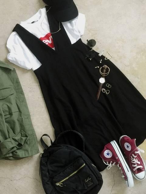 ナチュラル服のイタフラ|CONVERSEのスニーカーを使ったコーディネート - WEAR (6144)
