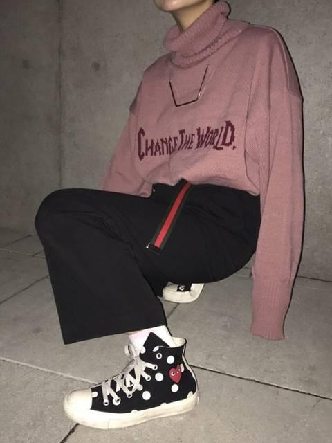 momoka|13MONTHのニット・セーターを使ったコーディネート - WEAR (6284)