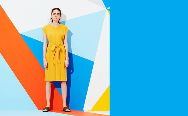 夏きゅん!Tドレス&サマーマキシ・モリ袖・ヌキ襟・刺しゅうトップス・ひら透けワンピ|WOMEN|GU(ジーユー)公式通販オンラインストア (7512)