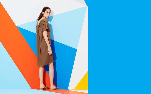夏きゅん!Tドレス&サマーマキシ・モリ袖・ヌキ襟・刺しゅうトップス・ひら透けワンピ|WOMEN|GU(ジーユー)公式通販オンラインストア (7515)