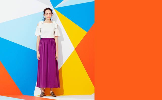 夏きゅん!Tドレス&サマーマキシ・モリ袖・ヌキ襟・刺しゅうトップス・ひら透けワンピ|WOMEN|GU(ジーユー)公式通販オンラインストア (7542)