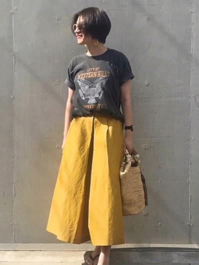 mayu.t|UngridのTシャツ/カットソーを使ったコーディネート - WEAR (7882)
