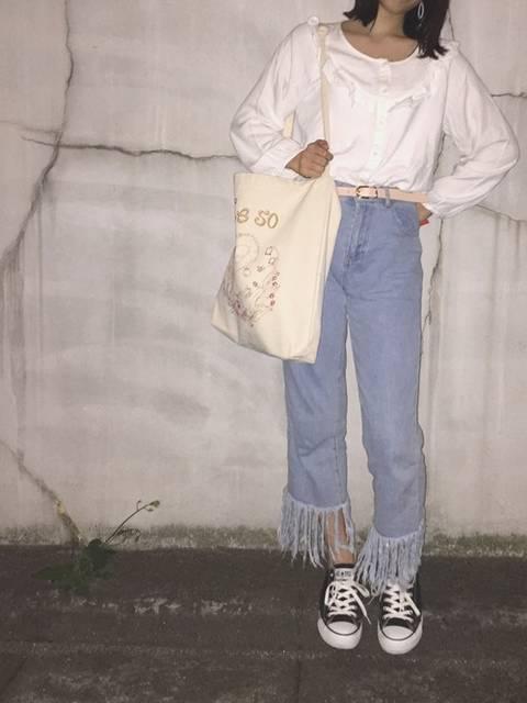 yuka.|LOWRYS FARMのシャツ・ブラウスを使ったコーディネート - WEAR (8247)