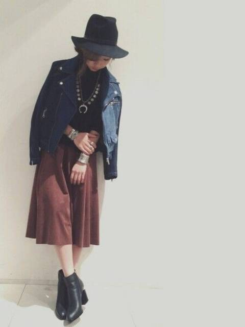 yurie_0312(ROYAL FLASH 神宮前)|Alexander Wangのニット・セーターを使ったコーディネート (8487)