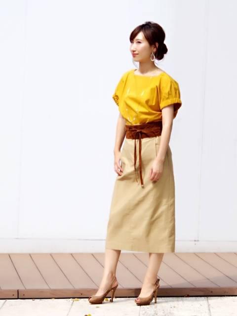 aya(NARA CAMICIE ECサイト)|NARACAMICIEのシャツ/ブラウスを使ったコーディネート - WEAR (8980)