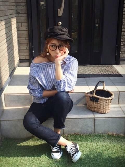 Chinatsu♡|MOUSSYのキャスケットを使ったコーディネート - WEAR (9021)
