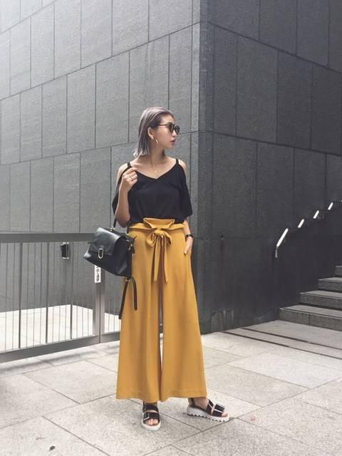 草野春香(MURUA 福岡パルコ)|MURUAのTシャツ/カットソーを使ったコーディネート - WEAR (9062)