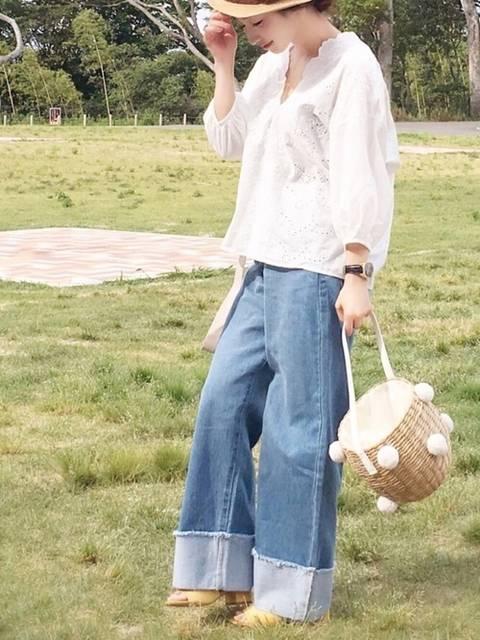 陽|mysty womanのシャツ/ブラウスを使ったコーディネート - WEAR (9083)