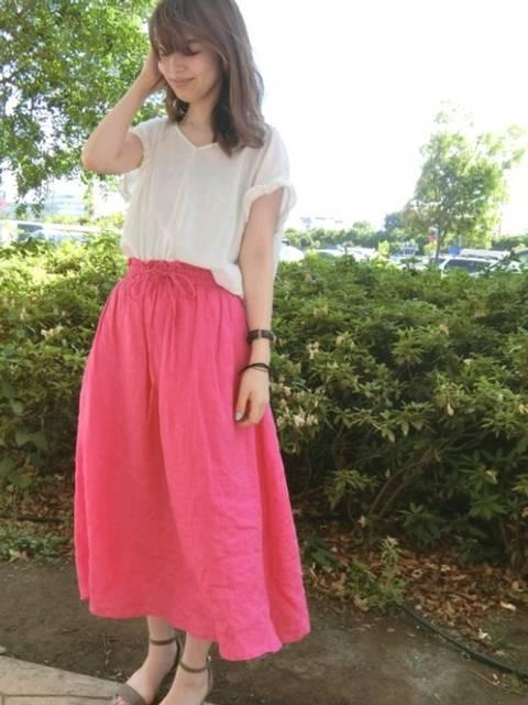 おその(natural couture むさし村山イオンモール店)|natural coutureのシャツ・ブラウスを使ったコーディネート - WEAR (9235)