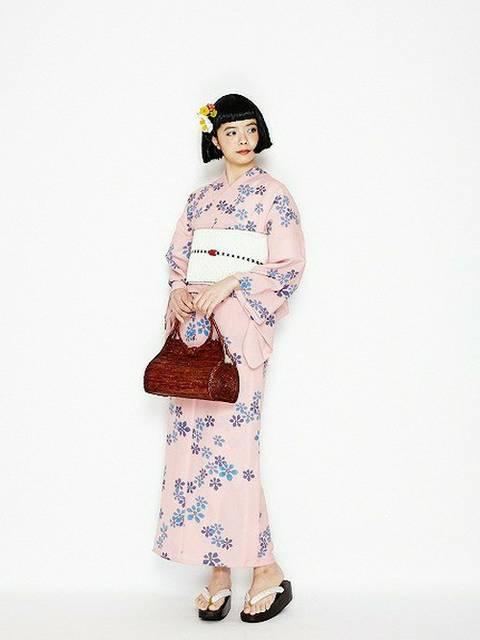 furifu(ふりふグループ)|ふりふの着物/浴衣を使ったコーディネート - WEAR (9615)
