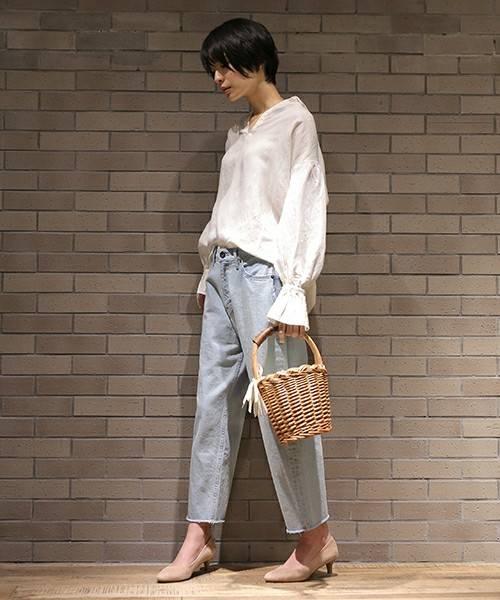 【セール】オリジナルバケツ型バスケット【niko and ...】(かごバッグ)|niko and...(ニコアンド)のファッション通販 - ZOZOTOWN (9794)