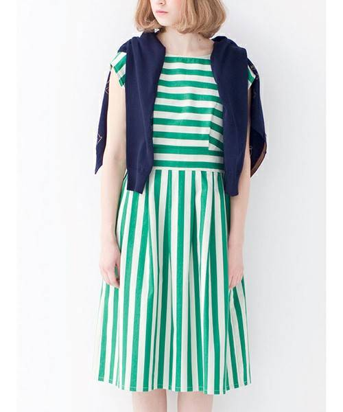 柄遣いでかわいさアップ! 太ベルトワンピース(ワンピース)|シロップ.(シロップ.)のファッション通販 - ZOZOTOWN (9808)