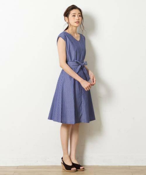 【2017夏のWEB限定】ウエストマークフレア ワンピース(ワンピース)|any SiS(エニィスィス)のファッション通販 - ZOZOTOWN (9810)