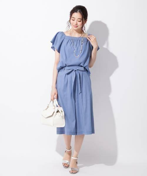 【2SET&洗える】オフショルフェミニン セットアップ(ワンピース)|any SiS(エニィスィス)のファッション通販 - ZOZOTOWN (9812)